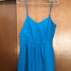 Teal blue J. Crew Factory Sundress